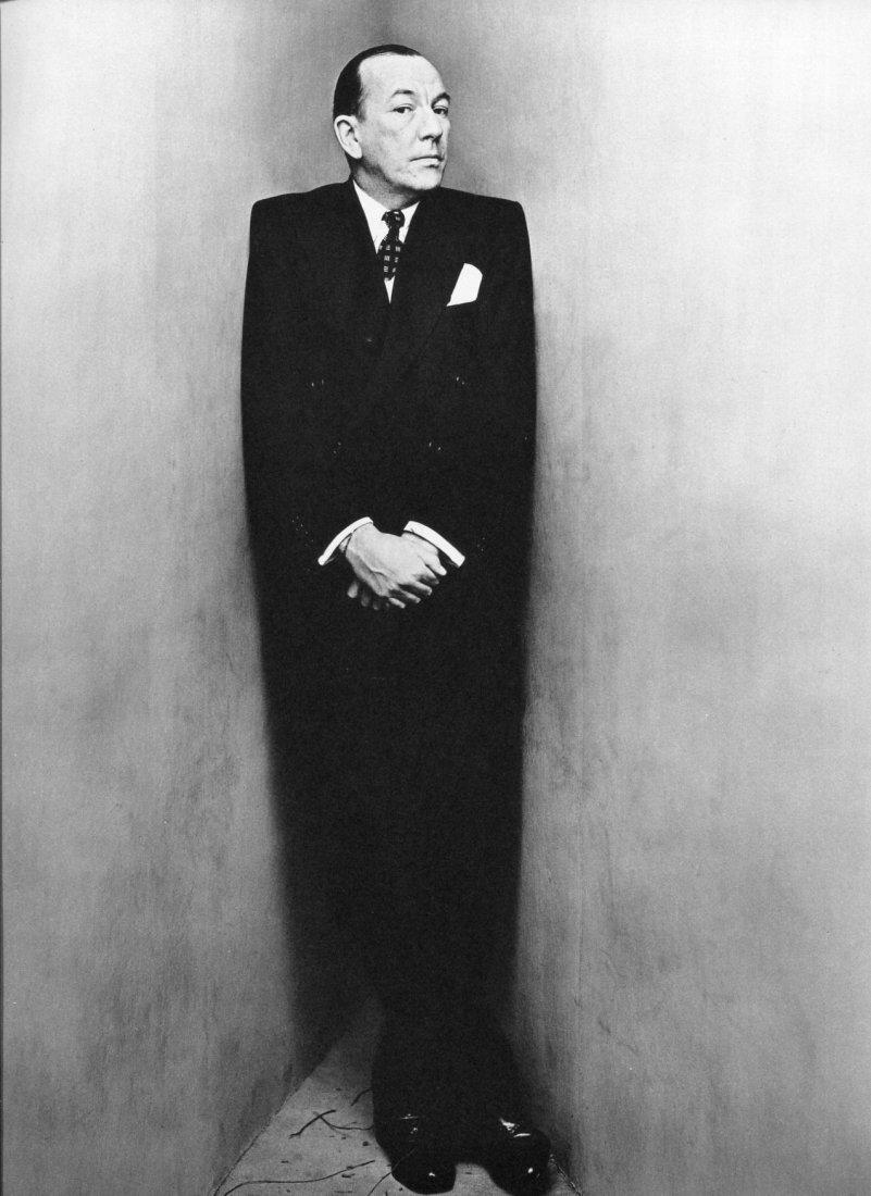 Irving Penn - Noel Coward - PhotoGravure