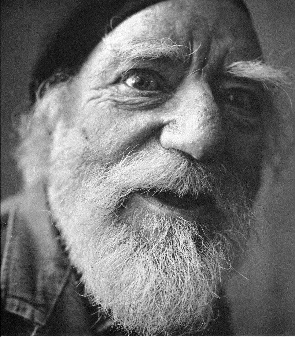 Irving Penn - Augustus John - PhotoGravure
