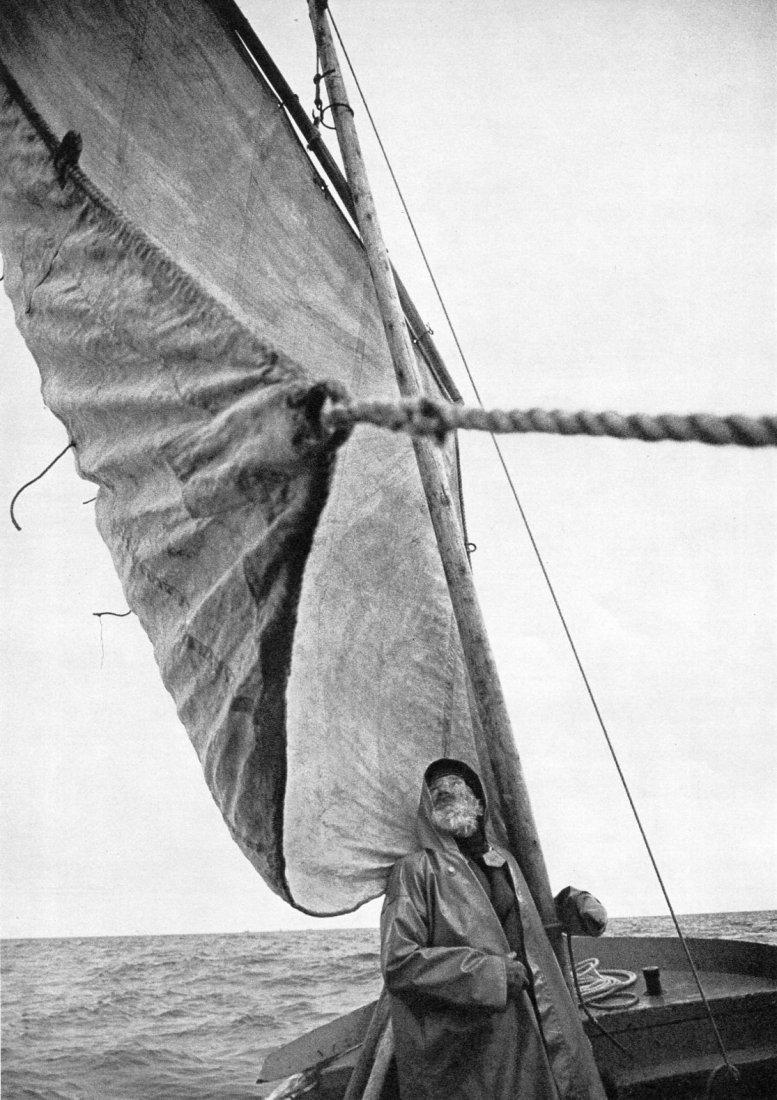 Edouard Boubat - Breton Fisherman - Gravure