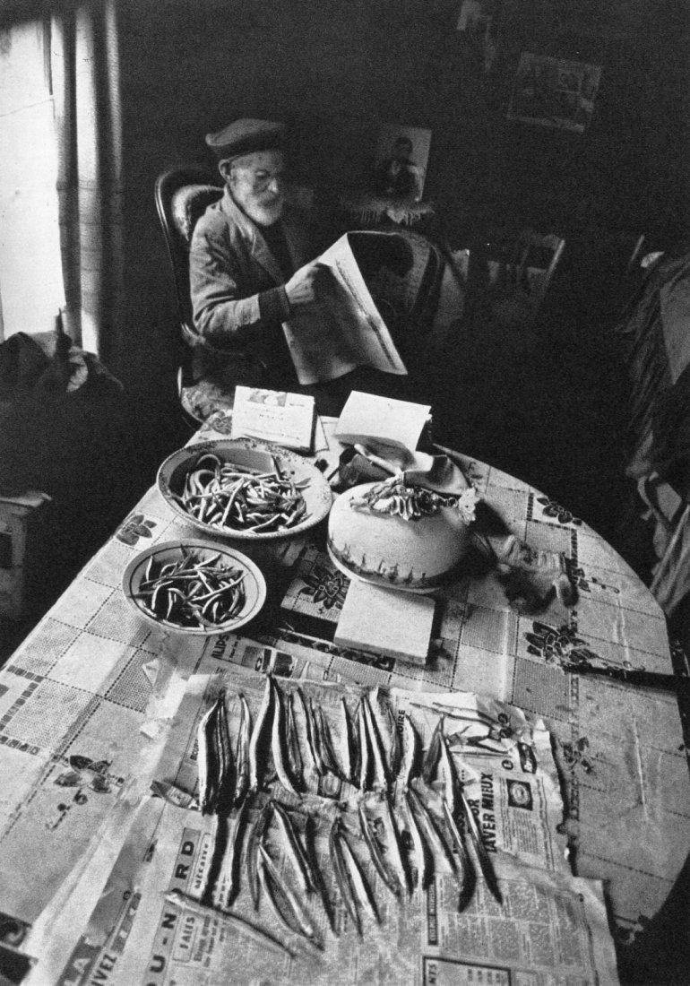 Edouard Boubat - Fisherman Supper - Gravure