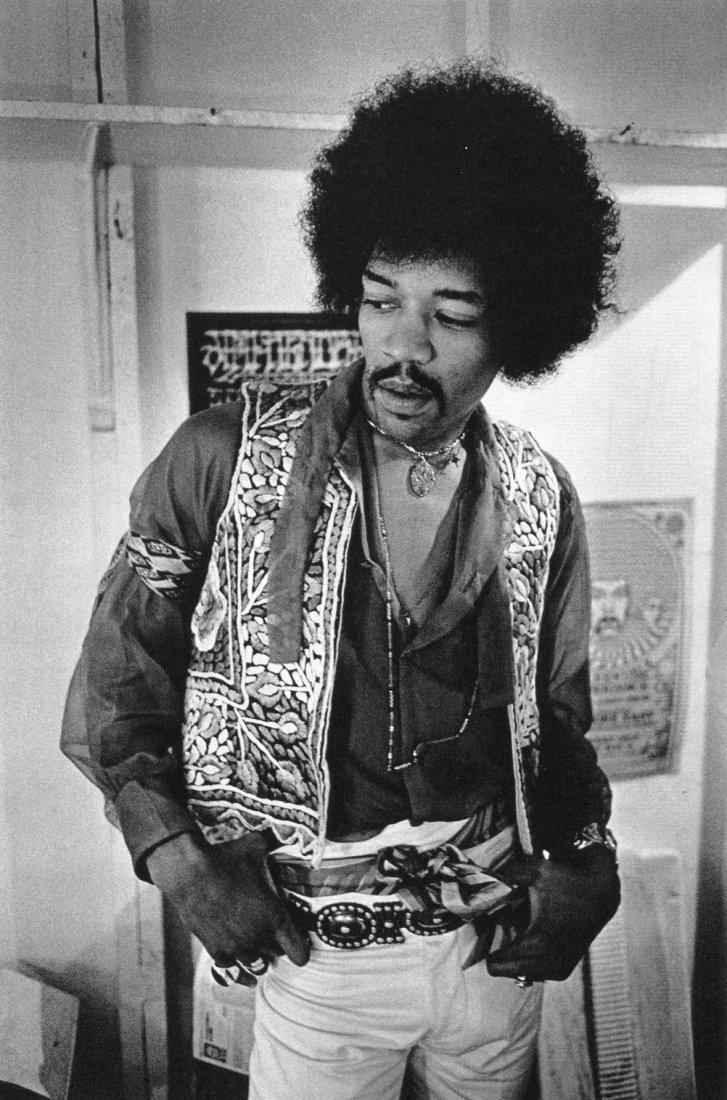 Jim Marshall - Jimi Hendrix  - PhotoGravure