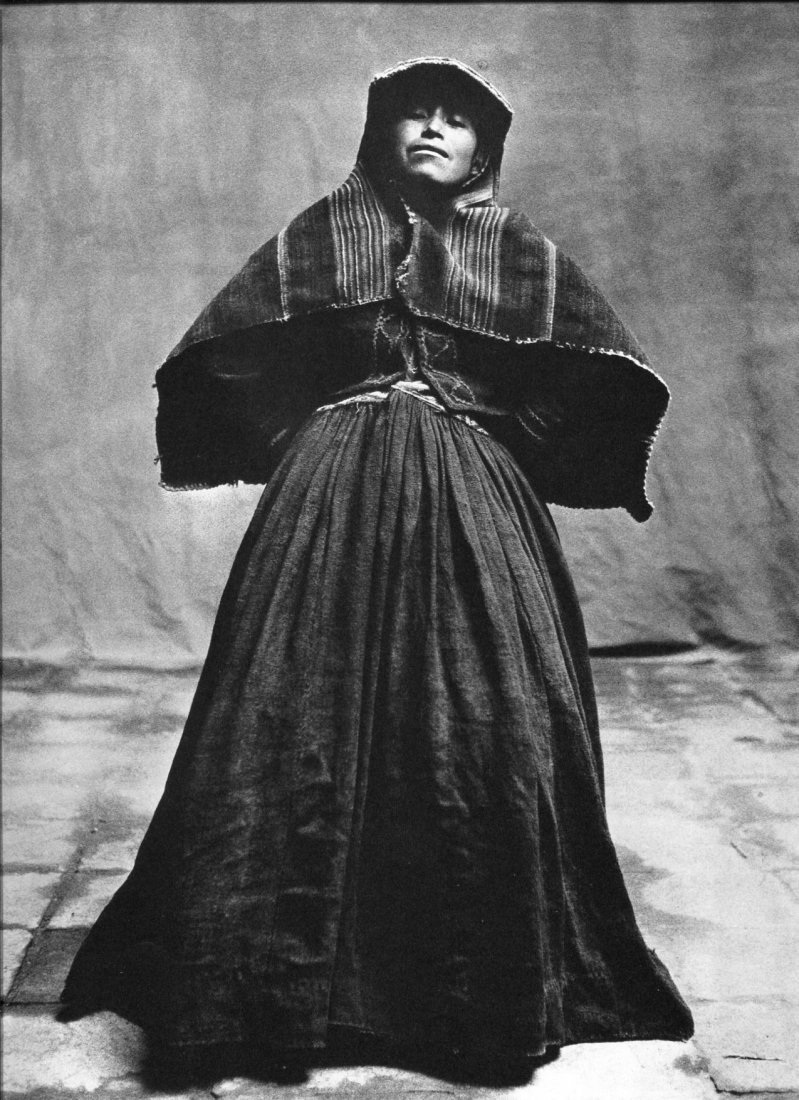 Irving Penn - Many-skirted Woman - Photogravure