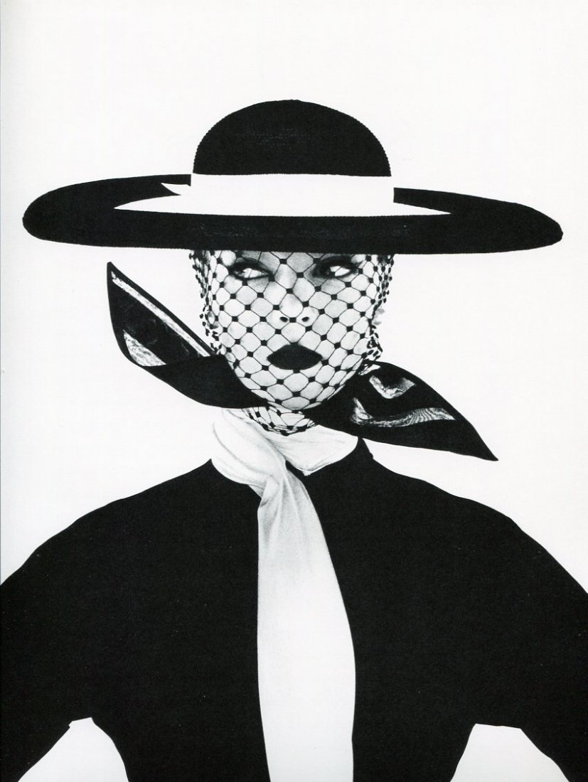 Irving Penn - Girl in B&W, NY - PhotoGravure