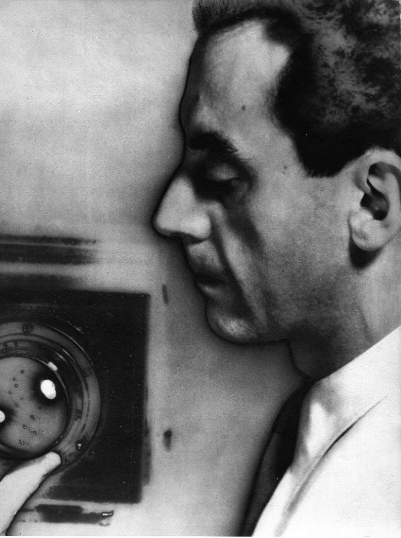 Man Ray -  Self Portrait with Camera
