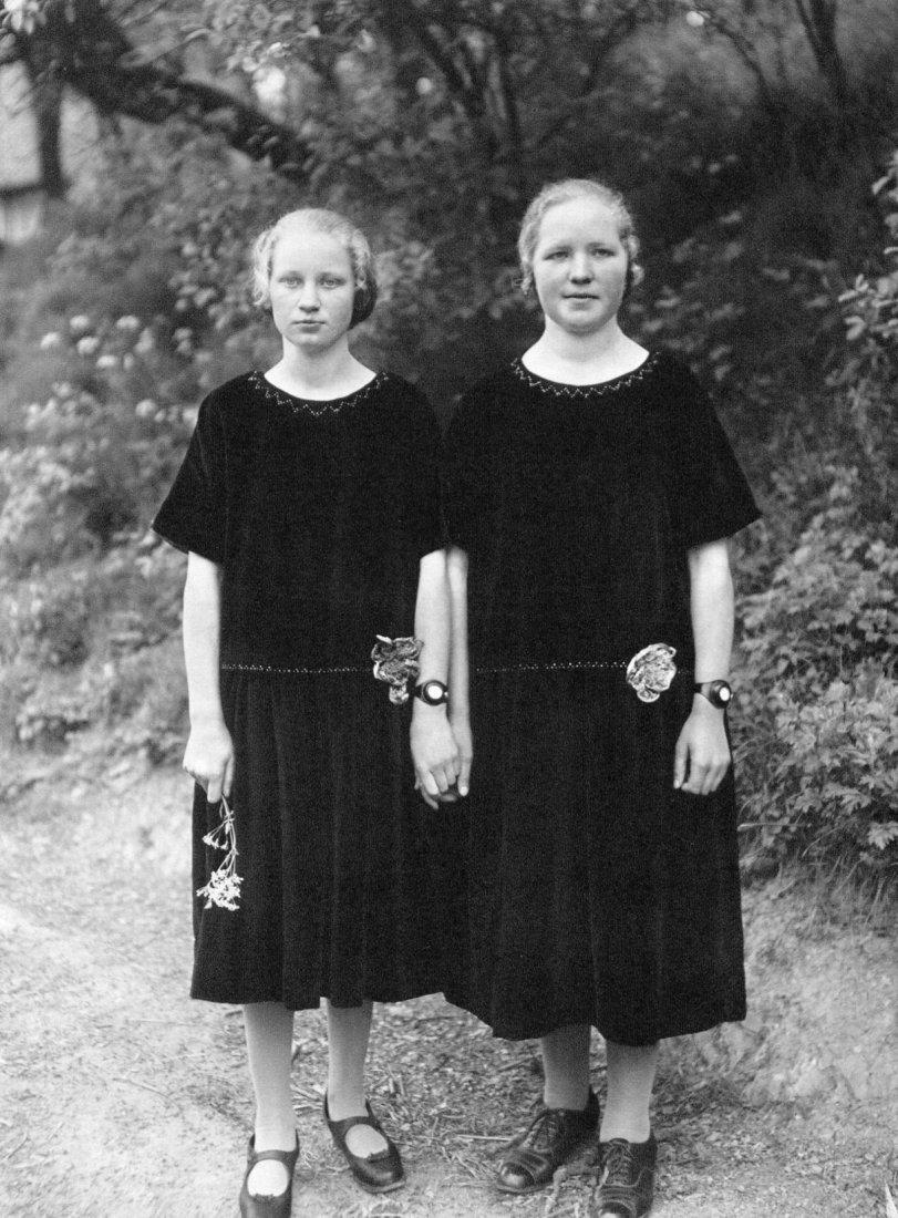 August Sander - Country Girls - Photogravure