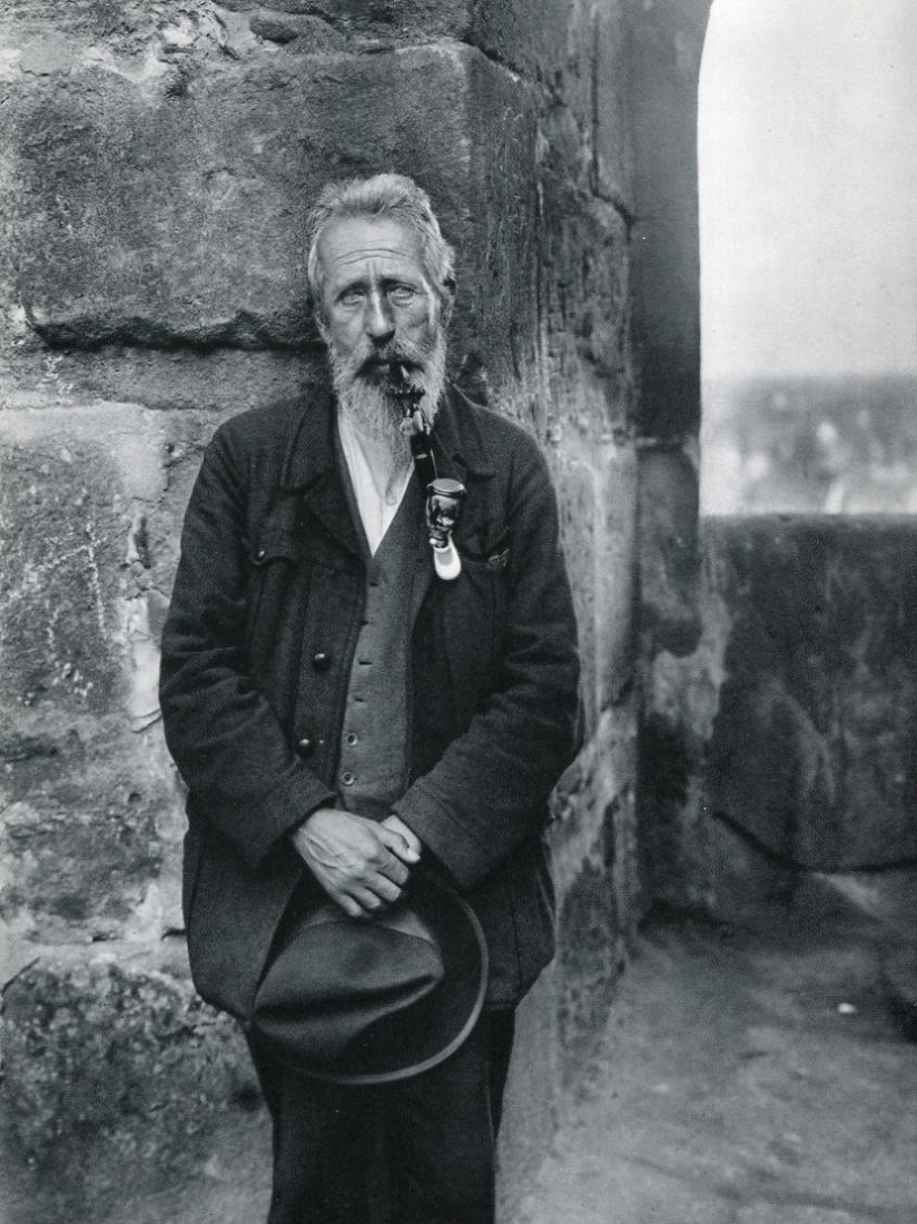 August Sander - Master Roofer - Photogravure