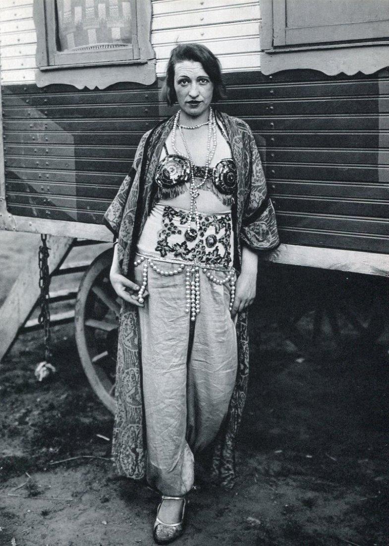 August Sander - Circus Performer - Photogravure