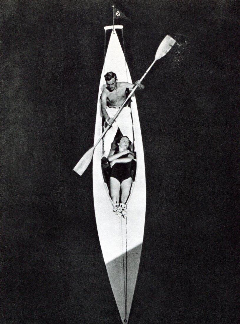 Heinz V Perckhammer - Kayak - Gravure