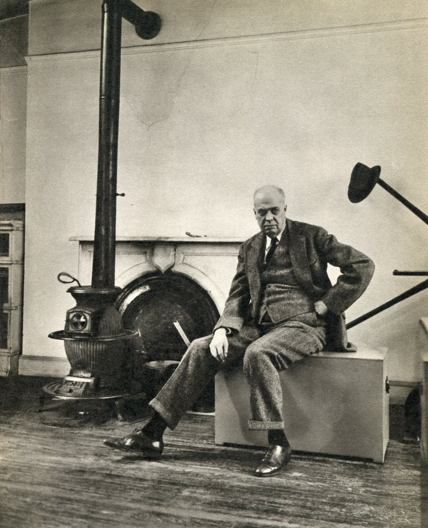 Abbot, Bernice - Edward Hopper in his Studio