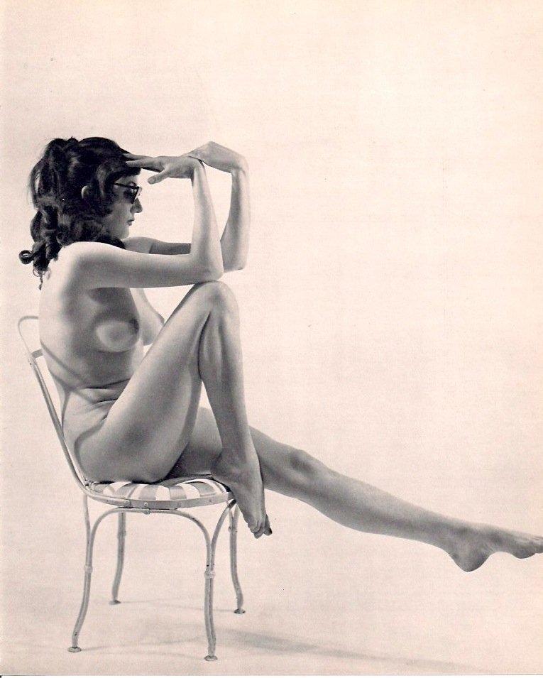 Amson, Marcel - Nude on Chair