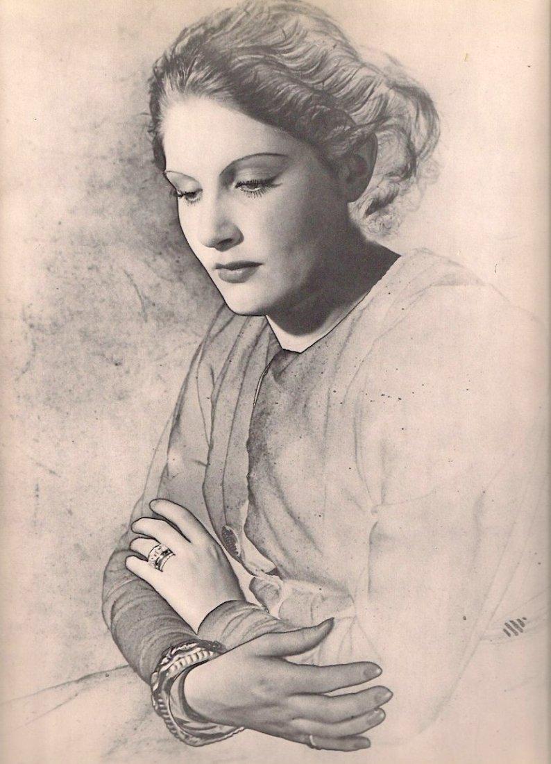 Blumenfeld, Ewin - Solarized Portrait