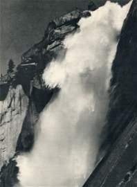 Adams, Ansel - Nevada Fall, Yosemite - Gravure