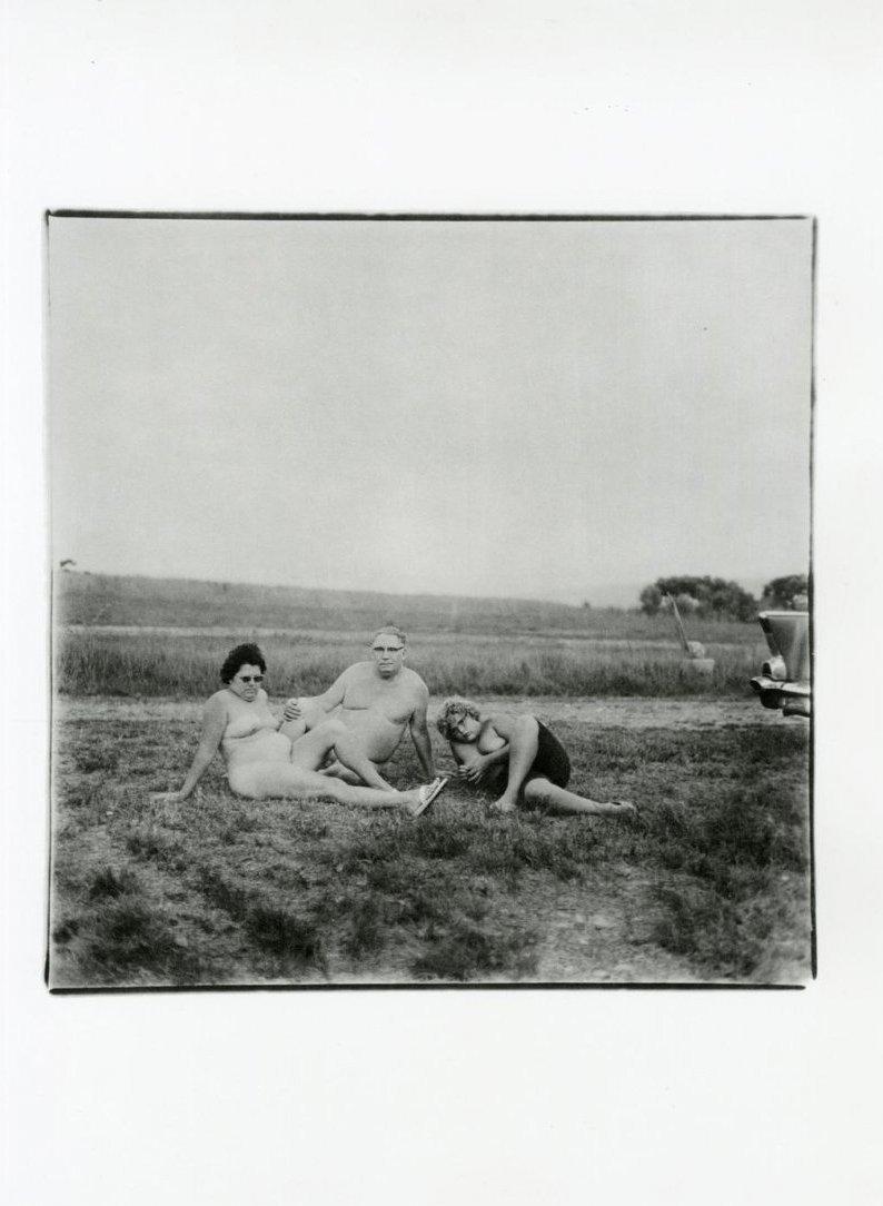 Arbus, Diane - One Evening in a Nudist Camp, PA