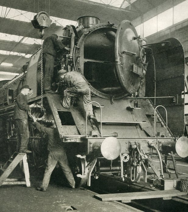 Berkowski, Walter - Locomotive