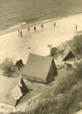 Israel, Ewald - Camping On The Beach