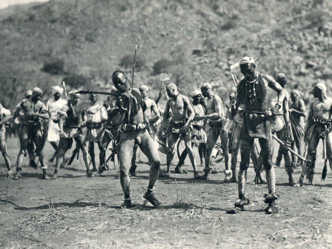 Bernatzik, H.A - Nuba Rattle Dance, Africa