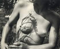 Jiru, Vaclav - Nude with Flower