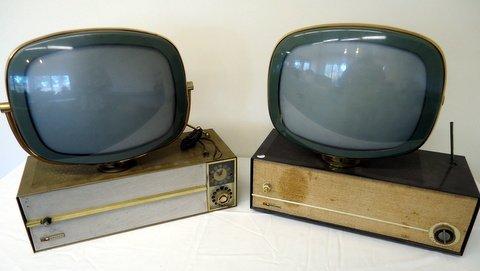 2 Predicta Philco TV sets