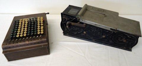Early Receipt Machine & Adding Machine