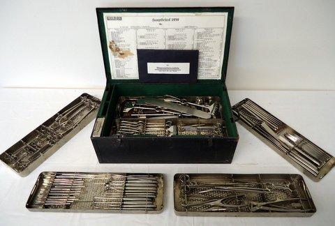 German Surgeon Kit Hauptbesteck 1939