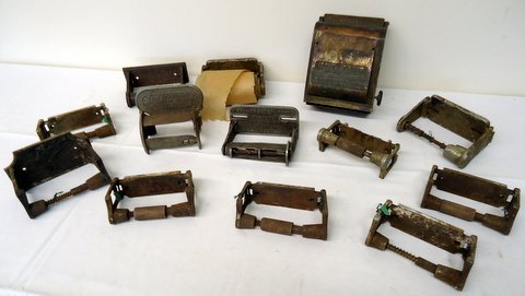 Lot of Tissue Dispensers w/Graphics