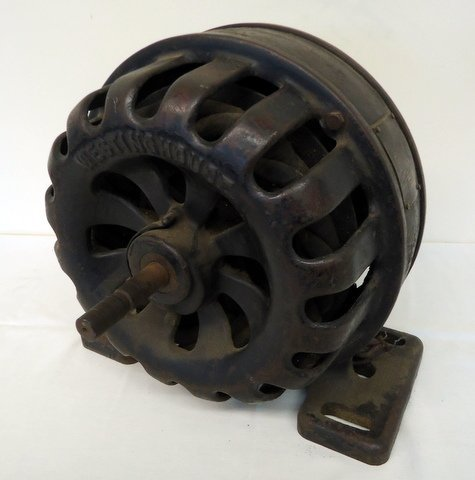 Early Westinghouse Induction Motor