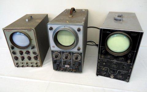 3 Oscilloscopes