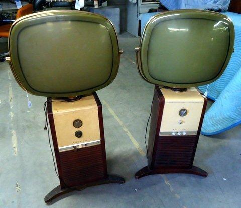 2 Philco Predicta Televisions