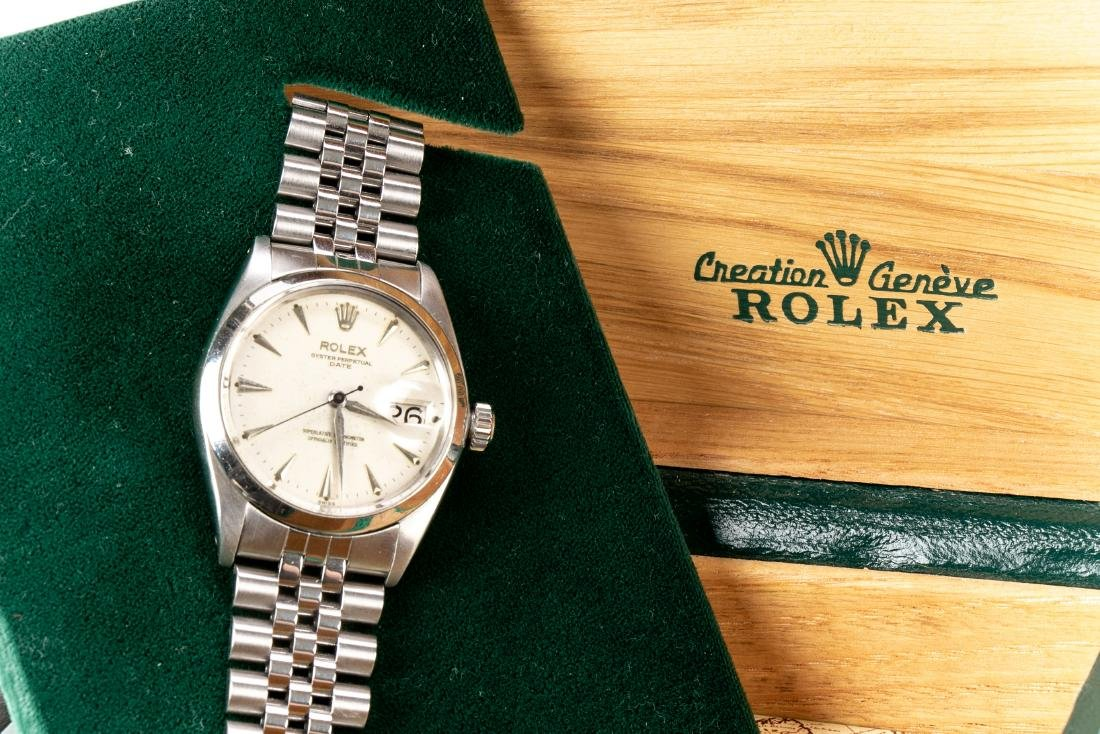Rolex Oyster Chronometer Stainless Steel Watch - 2