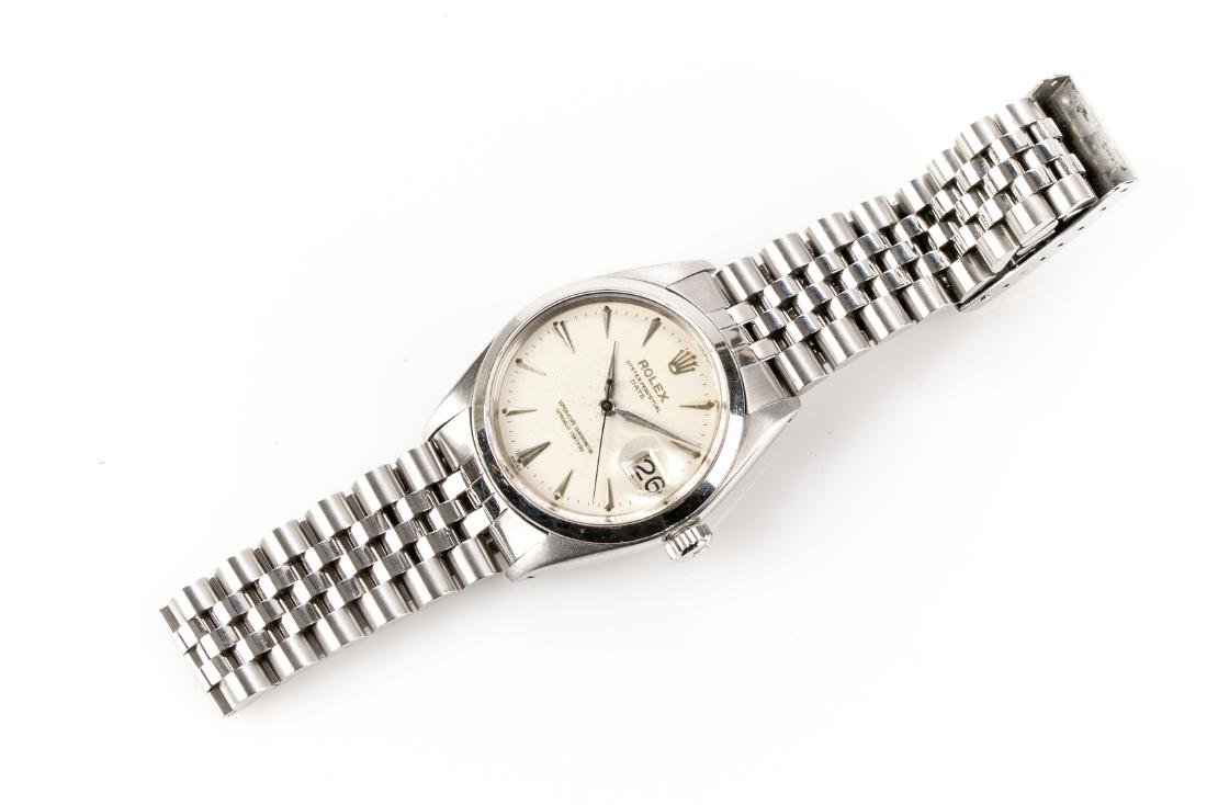 Rolex Oyster Chronometer Stainless Steel Watch - 6