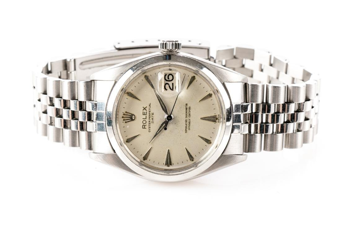 Rolex Oyster Chronometer Stainless Steel Watch - 8