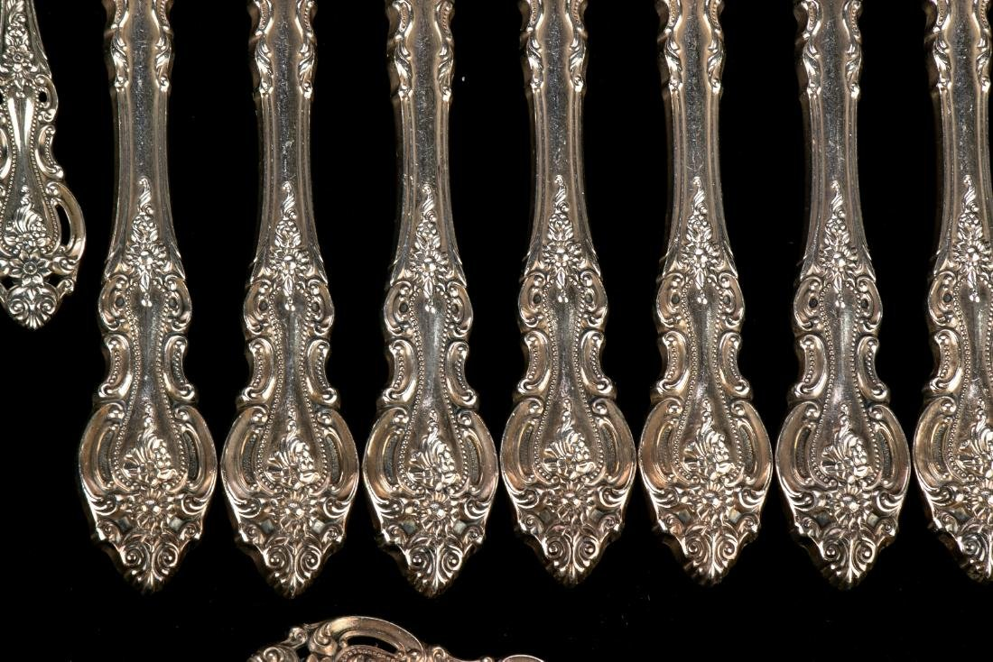 """Wallace Sterling Silver """"Grand Victorian"""" Flatware Set - 2"""