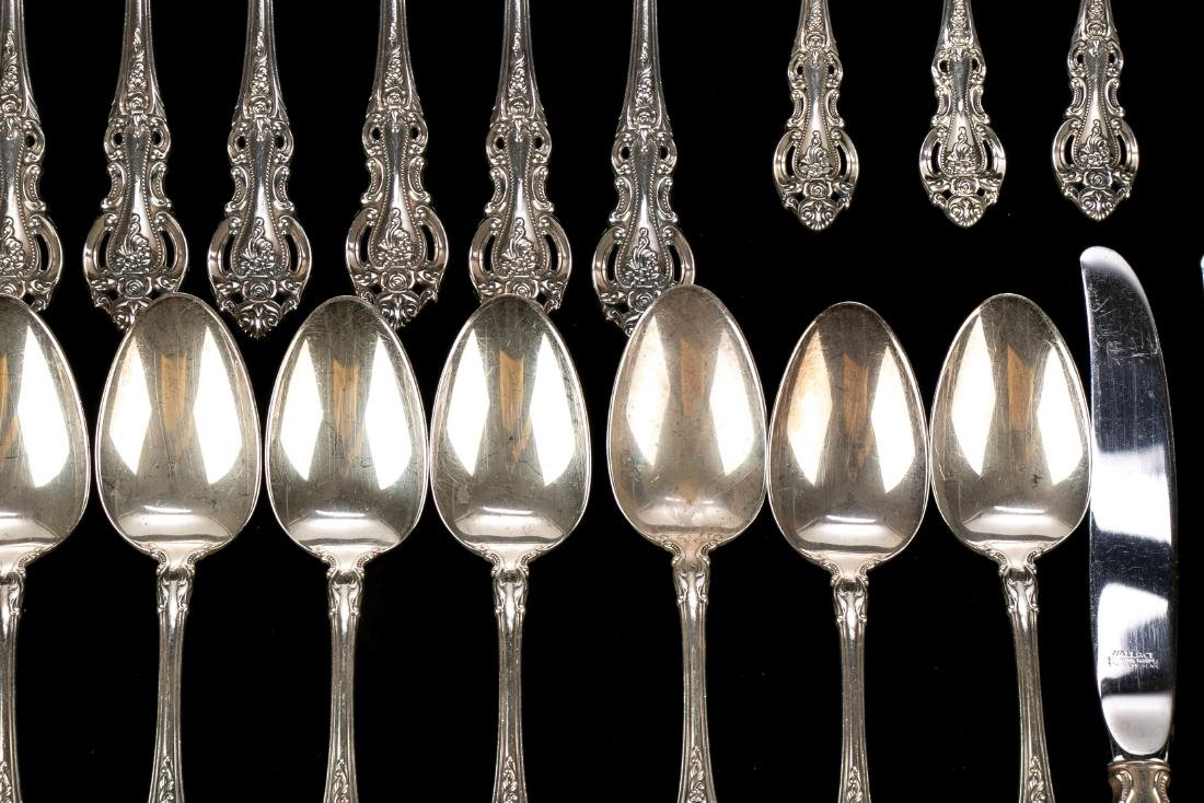 """Wallace Sterling Silver """"Grand Victorian"""" Flatware Set - 3"""