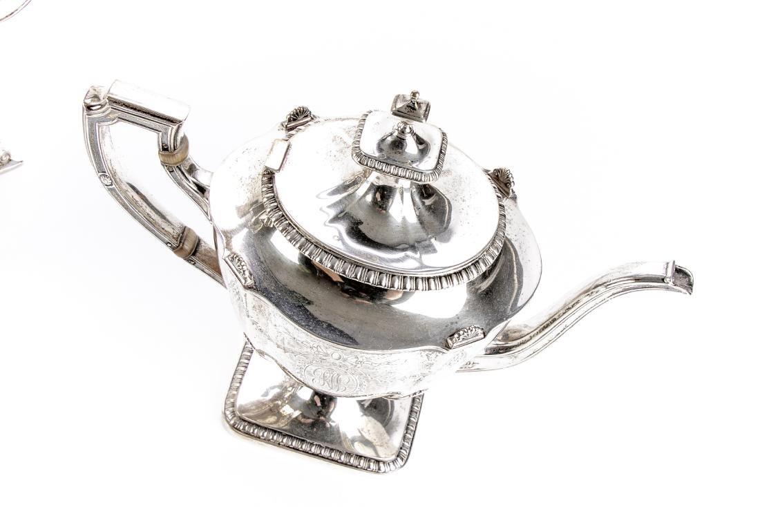 Reed & Barton Fine Sterling Silver Coffee Service - 5