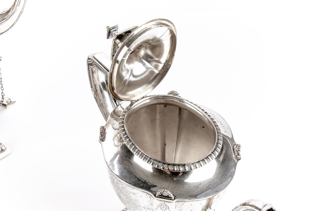 Reed & Barton Fine Sterling Silver Coffee Service - 8