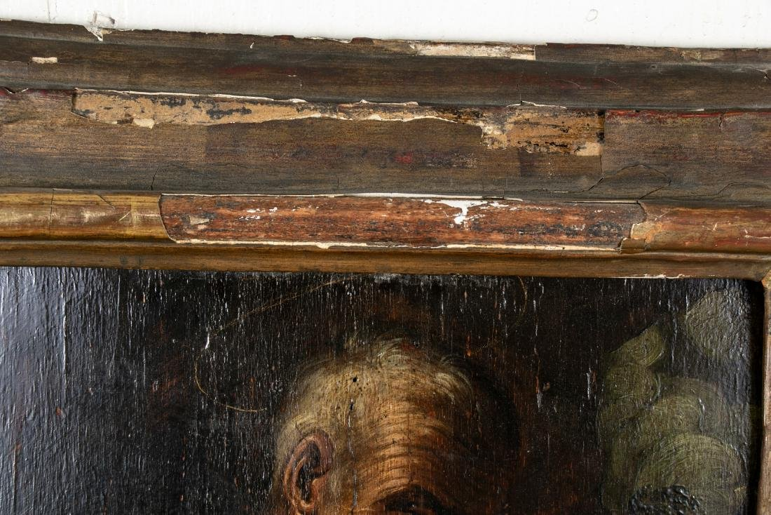 Old Master Oil On Panel- Figure Of An Elderly Male - 5