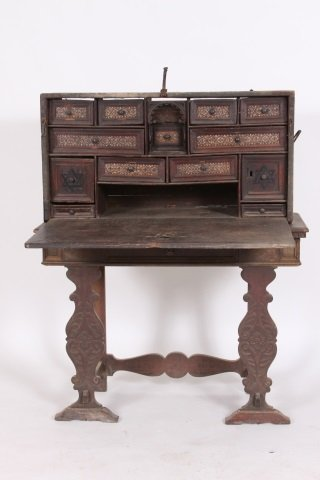 17TH CENTURY EASTERN VARGUENO CABINET