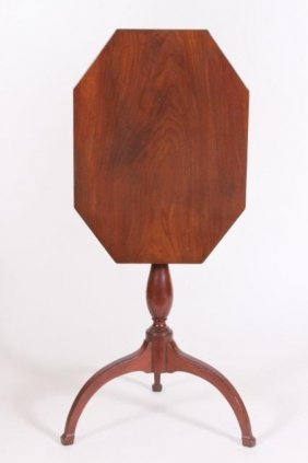 FEDERAL TILT TOP CANDLE STAND