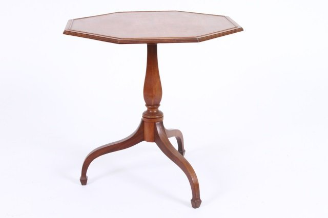 NATHAN MARGOLIS FEDERAL STYLE SIDE TABLE