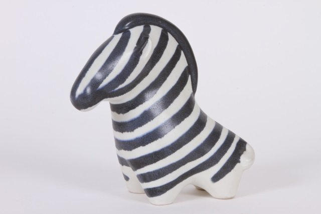 TAISTO KAASINEN FOR ARABIA FINLAND POTTERY ZEBRA
