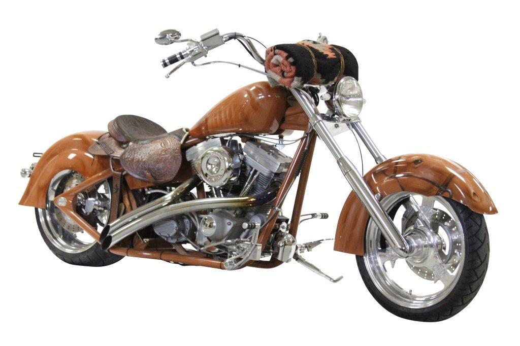 """BLAZE"", CUSTOM COMPOSITE MOTORCYCLE"