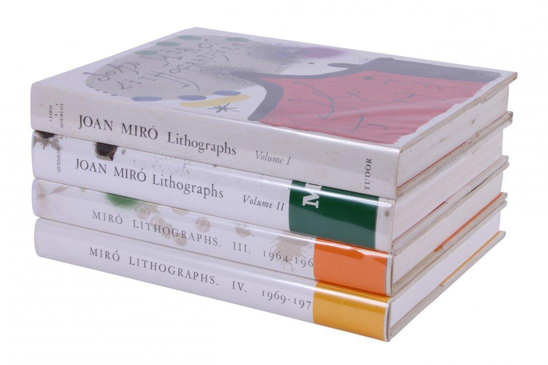 FERNAND MOURLOT - Joan Miro Lithographs