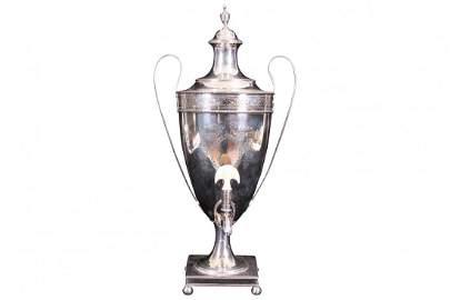 Hester Bateman George III Silver Coffee Urn