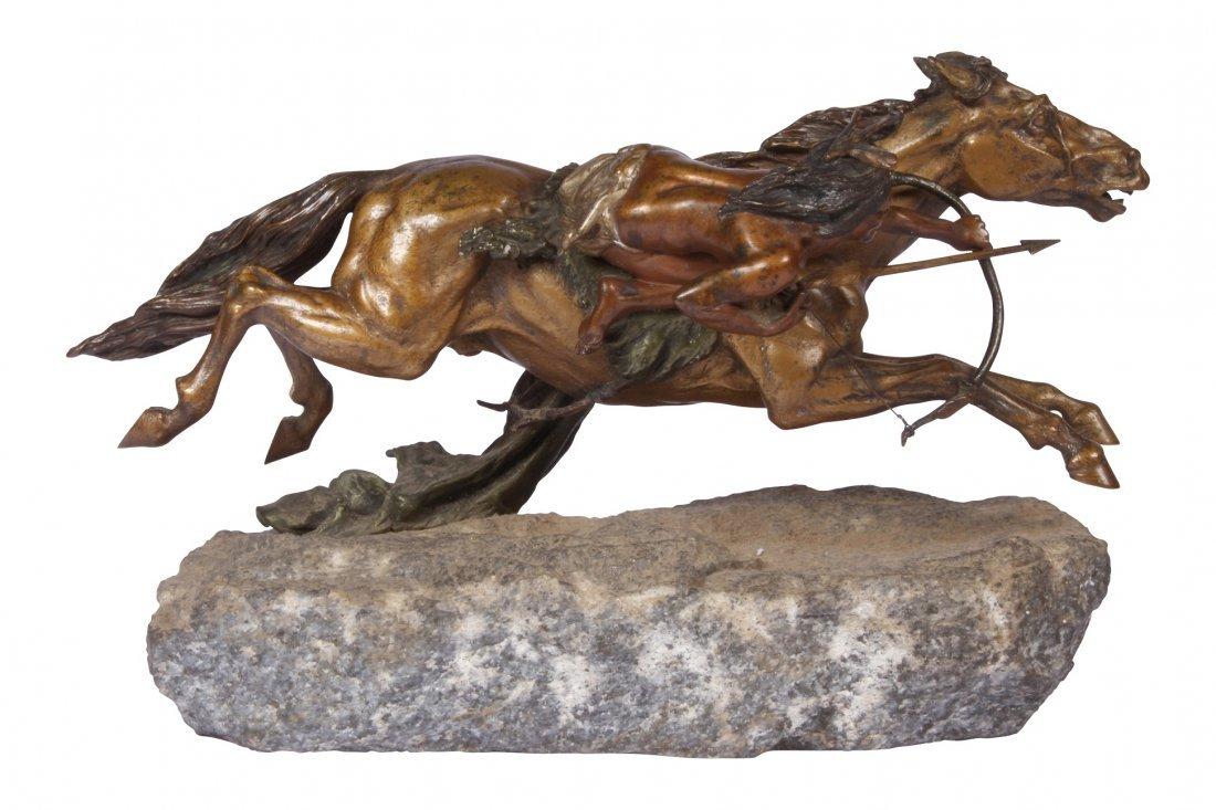 Franz Bergmann Geschutzt Austrian Cold Painted Bronze