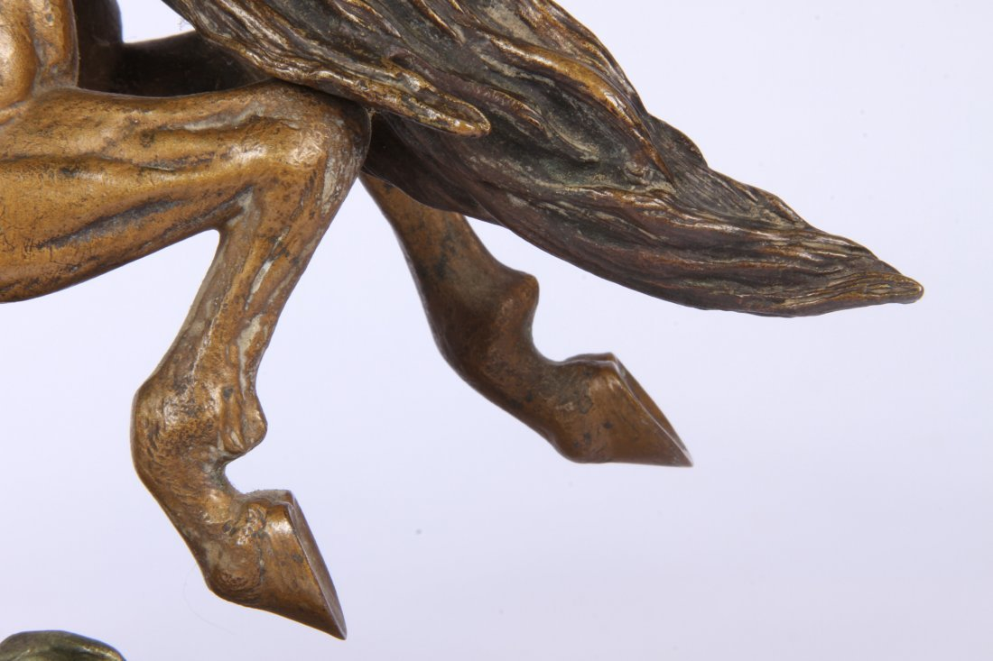 Franz Bergmann Geschutzt Austrian Cold Painted Bronze - 2