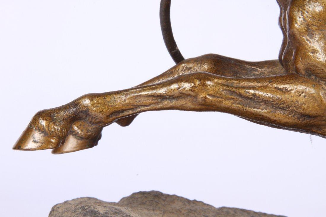 Franz Bergmann Geschutzt Austrian Cold Painted Bronze - 3