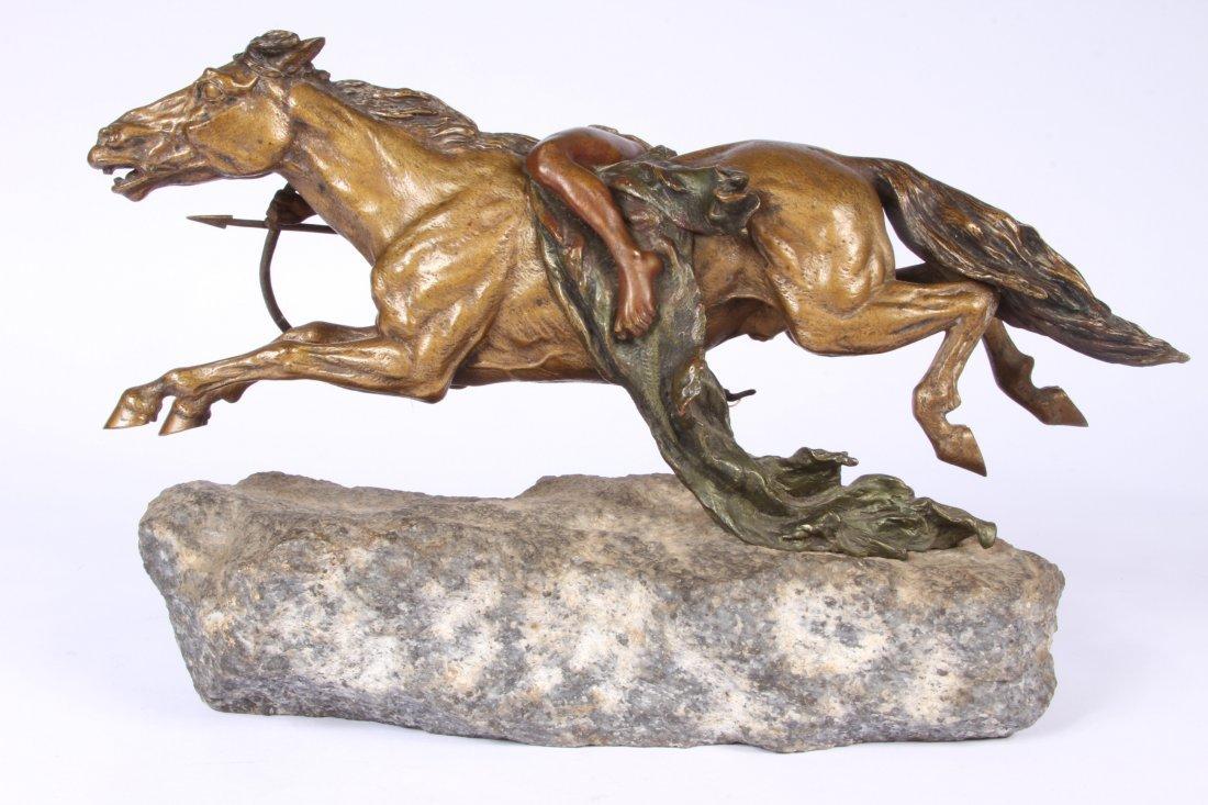 Franz Bergmann Geschutzt Austrian Cold Painted Bronze - 8
