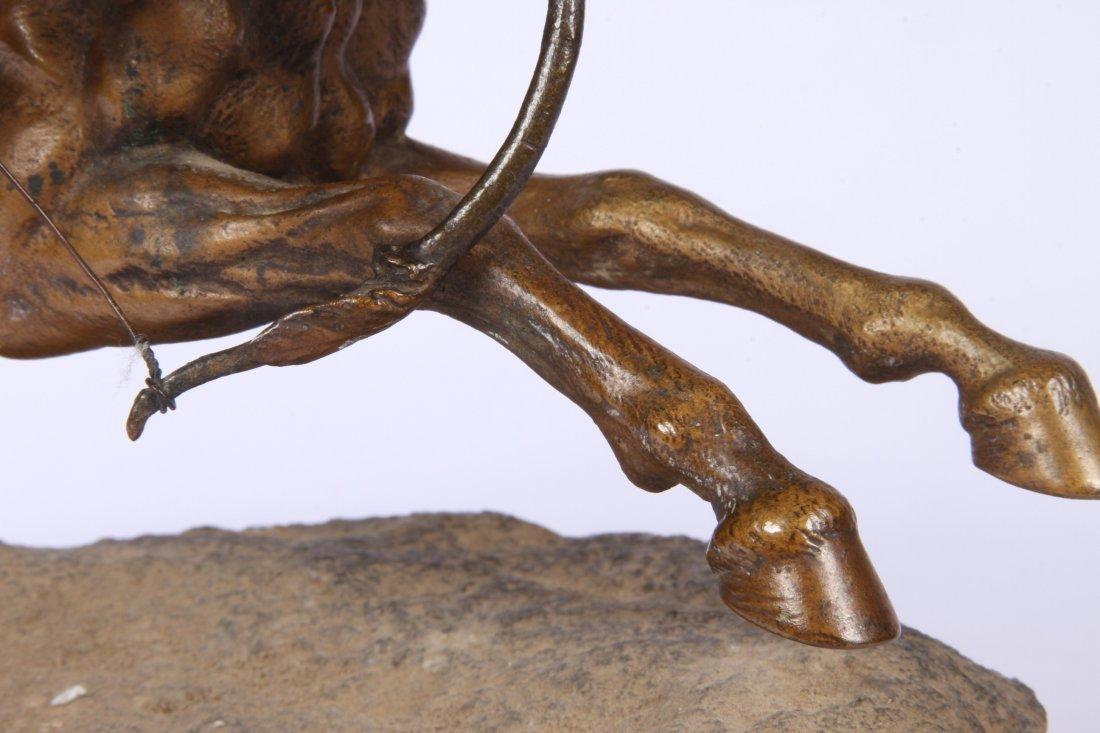 Franz Bergmann Geschutzt Austrian Cold Painted Bronze - 9