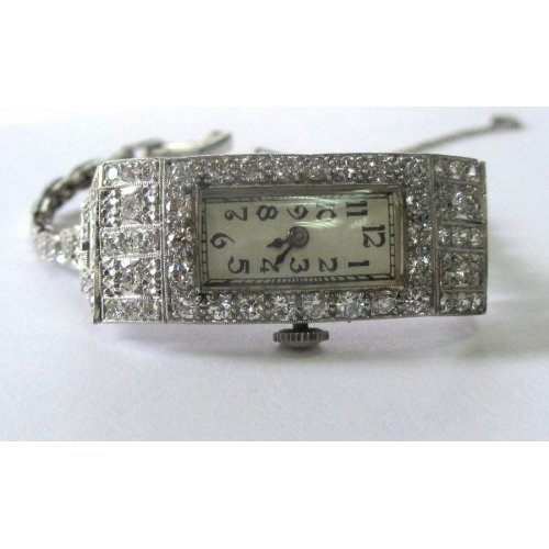 BRUNYIL PLATINUM DIAMOND WRIST WATCH - WL1826