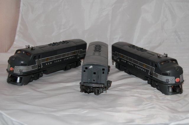 Lionel ABA three piece locomotive and dummy  2354